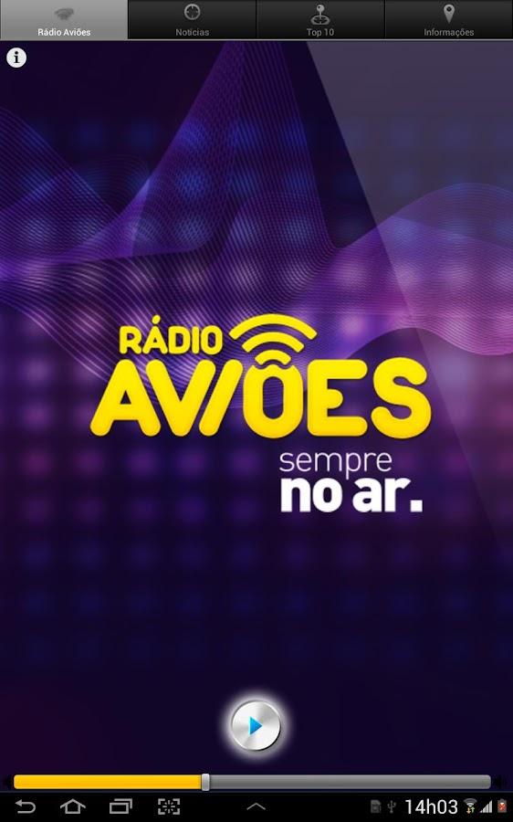 Rádio Aviões - screenshot