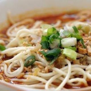 Sichuanese Dan Dan Noodles (dan Dan Mian).