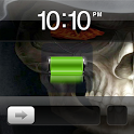 Fire Skull Theme Go Locker icon