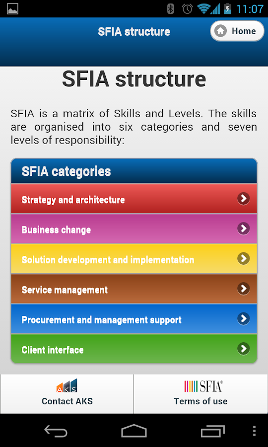 SFIA AKS - Android Apps on Google Play