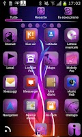 Screenshot of Flames theme GO Launcher EX
