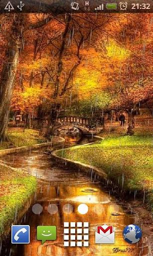 Raining Autumn Trail LWP