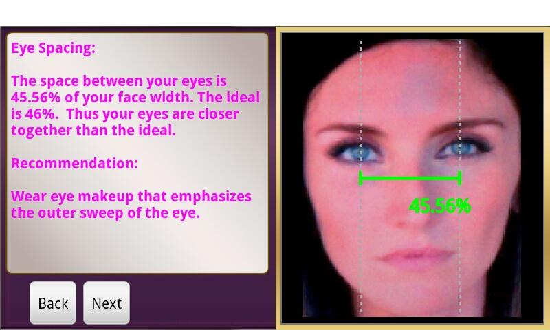 Vanity MIrror- Beauty Analysis- screenshot