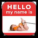 50000 Baby Names FREE! logo