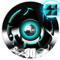 Twister Cyan Theme for NEXT icon