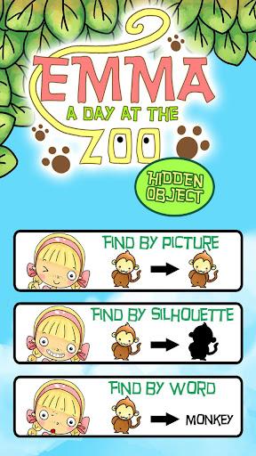 Hidden Object Kids - Emma Zoo