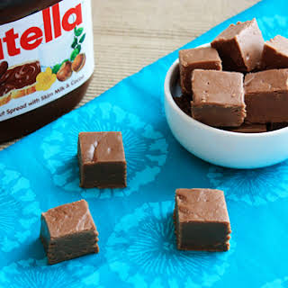 Incredible Nutella Fudge.