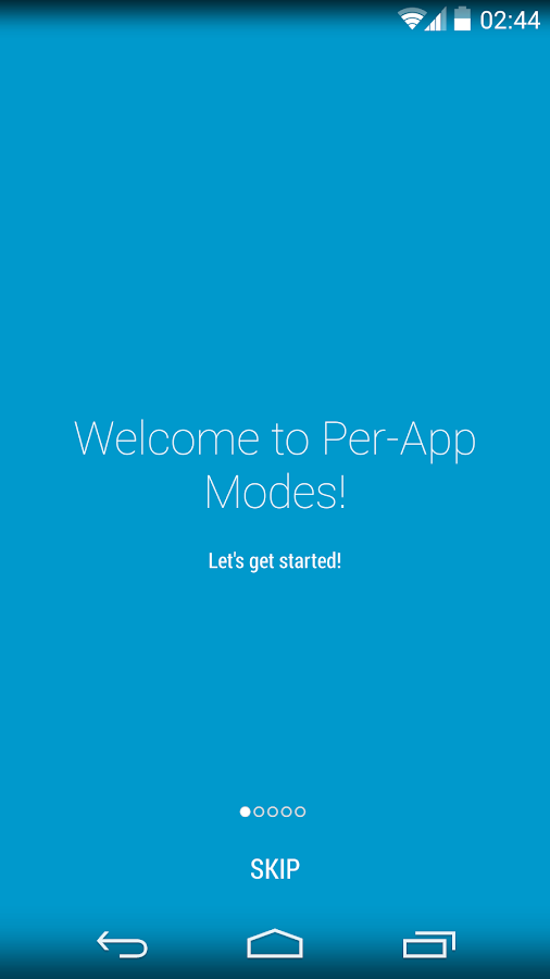 Per-App Modes- screenshot