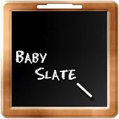 Baby Slate - English