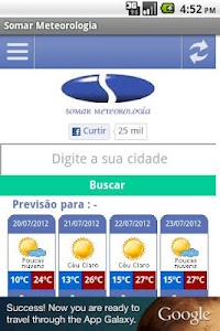 SOMAR Meteorologia screenshot 2
