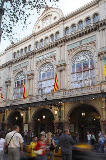 The Gran Teatre del Liceu, in the Ciutat Vella neighborhood of Barcelona, opened in 1862 and was built privately by shareholders of what eventually became the Great Liceu Theater Society.
