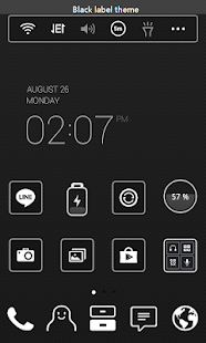 dodol Launcher - phone decor - screenshot thumbnail