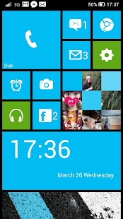 Launcher 8 free (fake wp8) - screenshot thumbnail