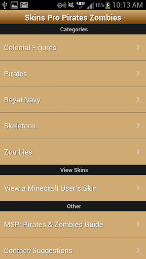 Skins Pro for Minecraft: P Z