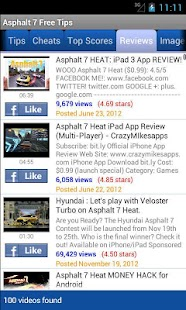Asphalt 7 Free Tips - screenshot thumbnail