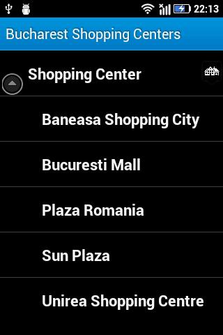 Bucharest Shopping Centers