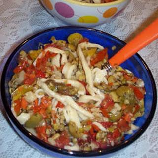 Tennille's Italian Pasta Salad.