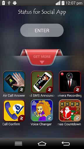 Status for Social App