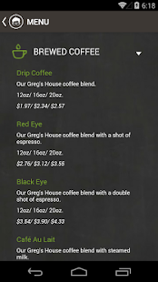 Gregorys Coffee - screenshot thumbnail