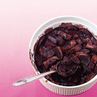 Chocolate Bread Pudding.