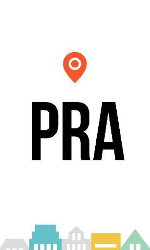 Prague city guide maps