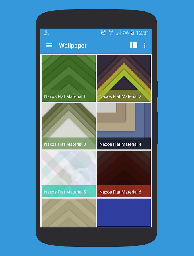 Naxos Flat Icon Pack - screenshot