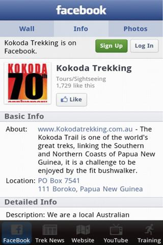 Kokoda Trekking- screenshot