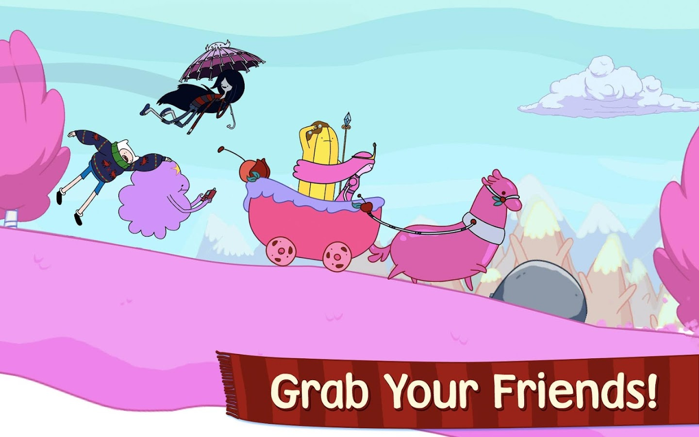 Ski Safari: Adventure Time - screenshot