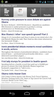 US 2012 Presidential Election - screenshot thumbnail