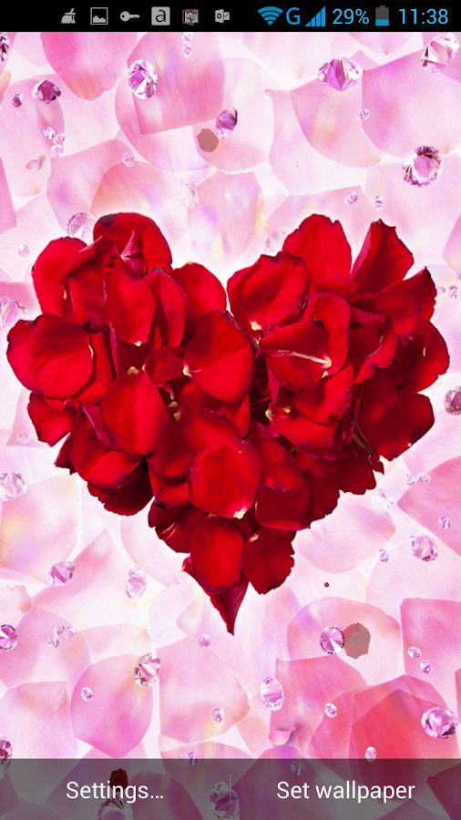 Rose Petals Live Wallpaper - Android Apps on Google Play