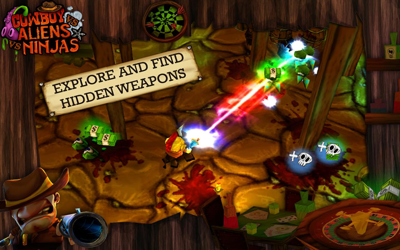 Western Mini Shooter - screenshot