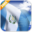3D Guatemala Flag LWP icon