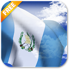 3D Guatemala Flag Live Wallpaper icon