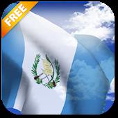 3D Bandera de Guatemala