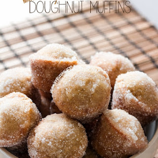 Maple Cinnamon Mini Doughnut Muffins