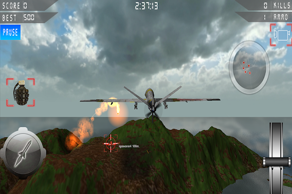 Drone Strike Combat 3D - screenshot