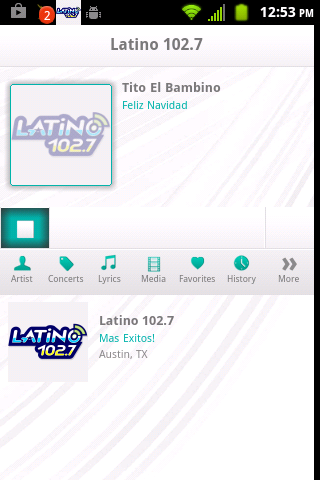 Latino 102.7 Mas Exitos - screenshot