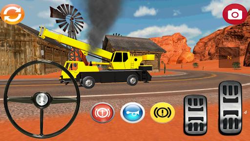 Crane Simulator 3D