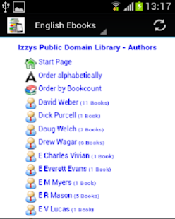 English Ebook Library - screenshot thumbnail