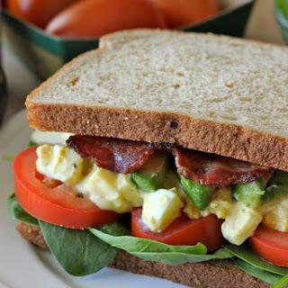 Egg Salad BLTA Sandwich