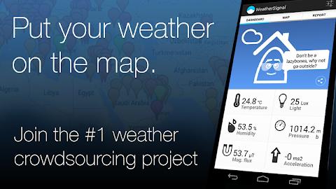 WeatherSignal Screenshot 1