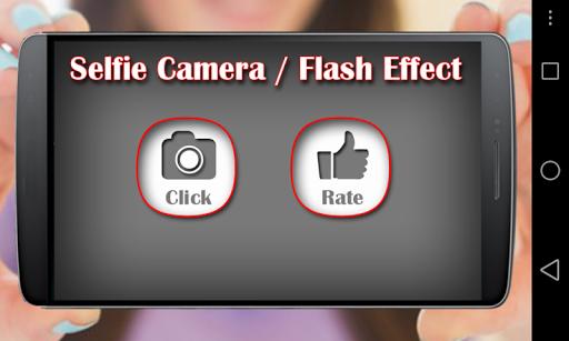 Front Flash Selfie Camera