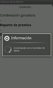 Sorteos de la ONLAE- screenshot thumbnail