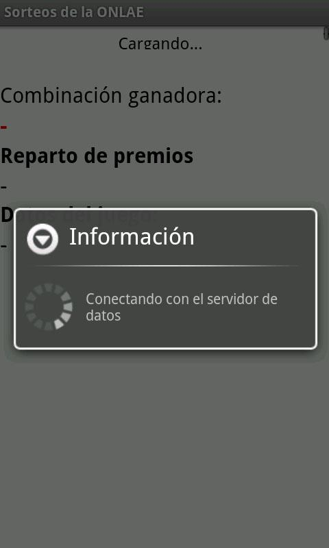 Sorteos de la ONLAE- screenshot