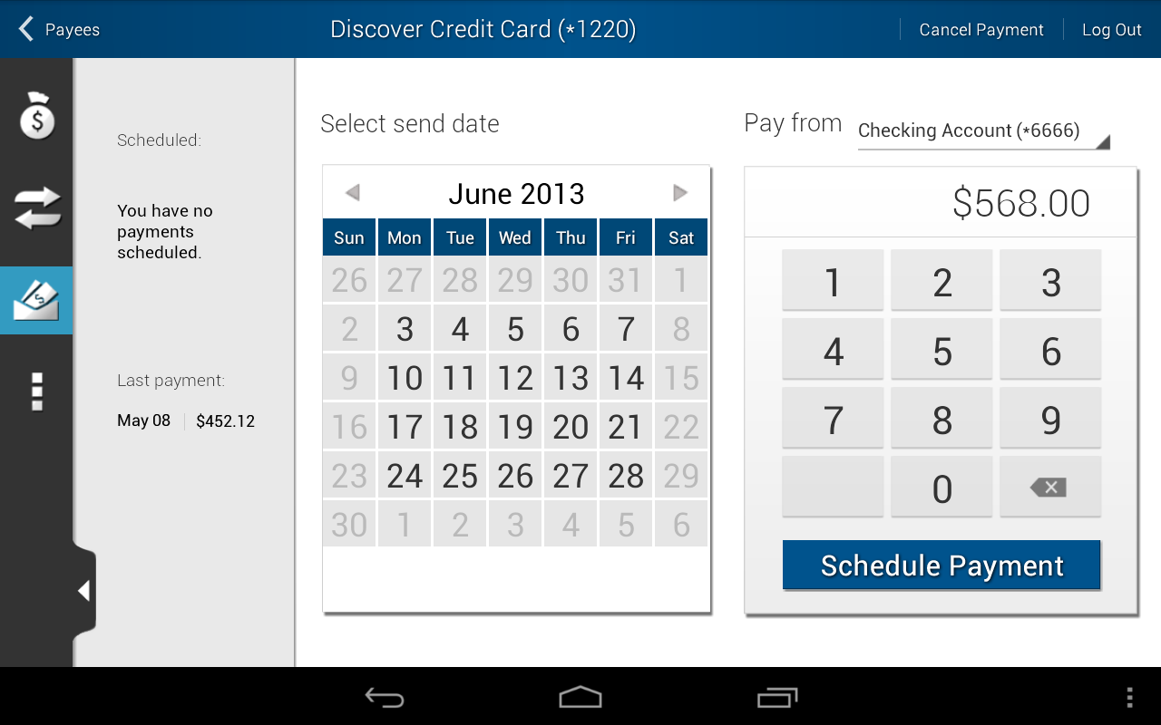Eastman Credit Union Mobile - screenshot