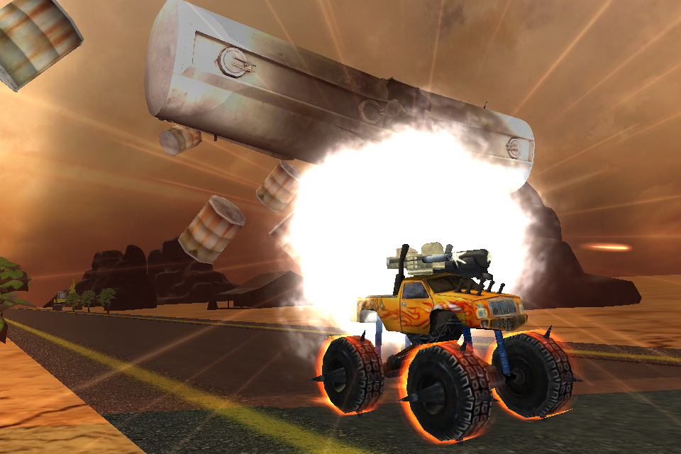 Crazy Monster Truck Fighter 3D- screenshot