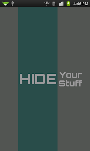 Hide Your Stuff