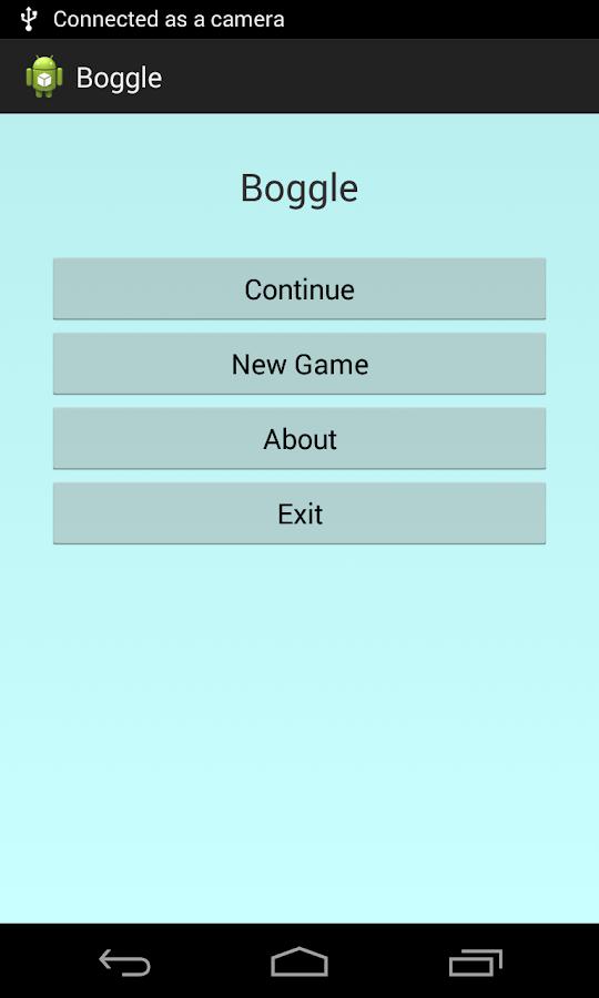 Boggle - screenshot