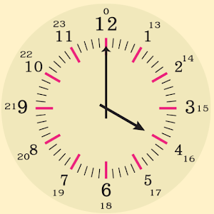 Learning clock time - Android Apps on Google Play