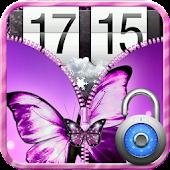 Butterfly Zip Screen Lock